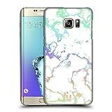 Head Case Designs Regenbogen Schimmerndes Marmor Ruckseite Hülle für Samsung Galaxy S6 Edge+ / Plus