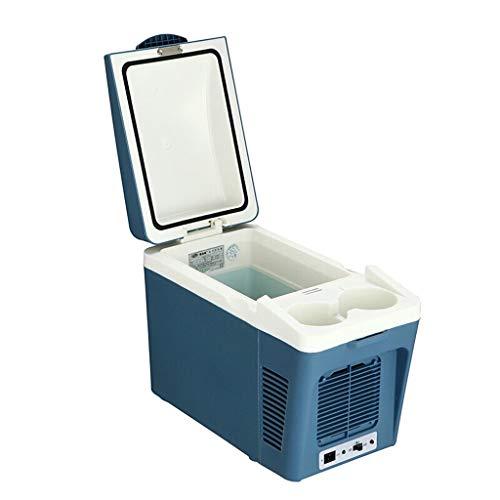Preisvergleich Produktbild YYL Auto Kühlschrank-Mini Kühlschrank - 7L Blue Compact Kühlschrank fasst 8 x 330ml Dosen