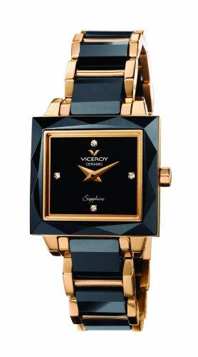 Viceroy 432040-90 – Reloj de mujer de cuarzo, correa de cerámica color negro