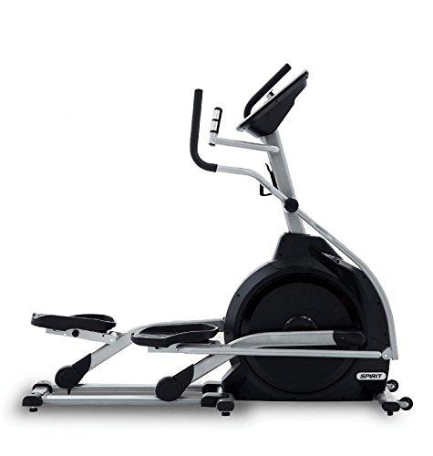 Spirit Elliptical XE 195 – Ellipsentrainer, Cross Trainer mit Hand-Puls-Sensoren, Ergometer, Cardio Fitness - 3