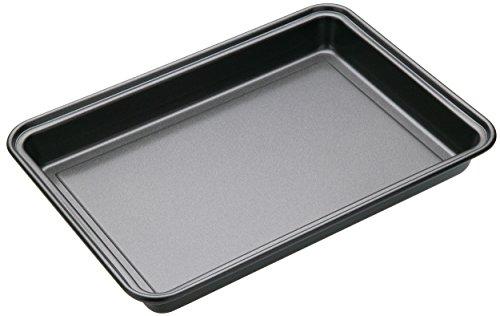 Master Class Brownie Form 27x20x3cm, Karbonstahl, schwarz, 27 x 20 x 3,5 cm