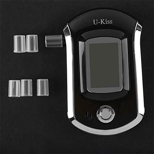 Nowakk U-Kiss Profesional Pantalla de visualización LCD Probador de Alcohol Detector de Alcohol Digital Alcoholímetro de Alta sensibilidad