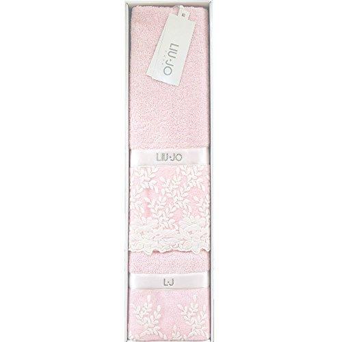 Liu jo set 1+1 spugna ginestra 100% cotone (rosa) eec52a0b173