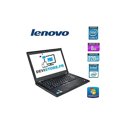 'Lenovo ThinkPad T420-PC portatile-14-nero (Intel Core i5-2520M/2.50GHz, 8GB di RAM, HDD 320GB, Masterizzatore DVD, webcam, Windows 7Professionale)