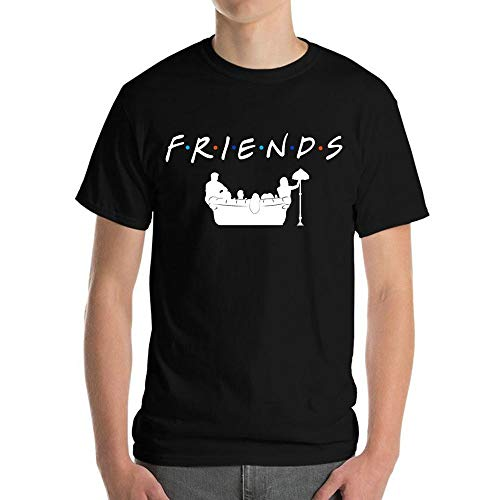 RF2B Men's Men Printing Tees Short Sleeve T Shirt - Ultra Cotton Heavyweight T-shirt