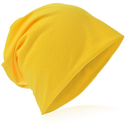 Kostüm Frauen Minion - Beanie-Unifarbe-Gelb, one size