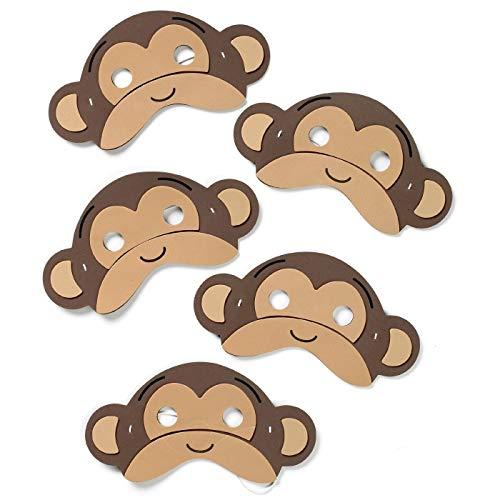 Lehreressourcensack - 5 Springende Affen Lied Maske Hat Gesetzt
