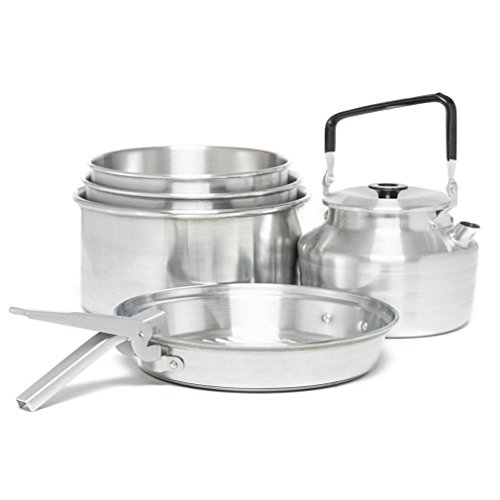Eurohike Familie Fest Cookset, Silber, Einheitsgröße Family Cookset