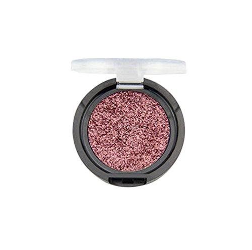 Watipi Fard à paupières Pigment de paillettes de diamants de maquillage scintillant ombre à paupières brillante imperméable de longue durée