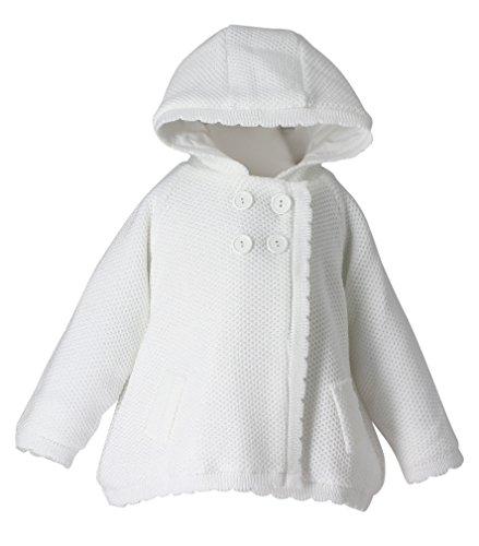 Baby Taufe Hochzeit Baby Strickjacke Gr. 92, weiß ()