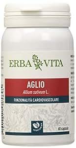 Erba Vita Integratore Alimentare di Aglio - 60 Capsule