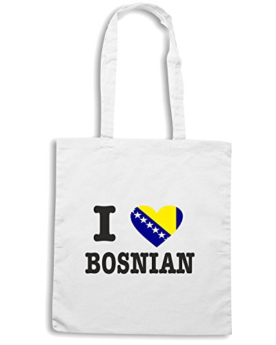 T-Shirtshock - Borsa Shopping WC0038 BOSNIA Bianco