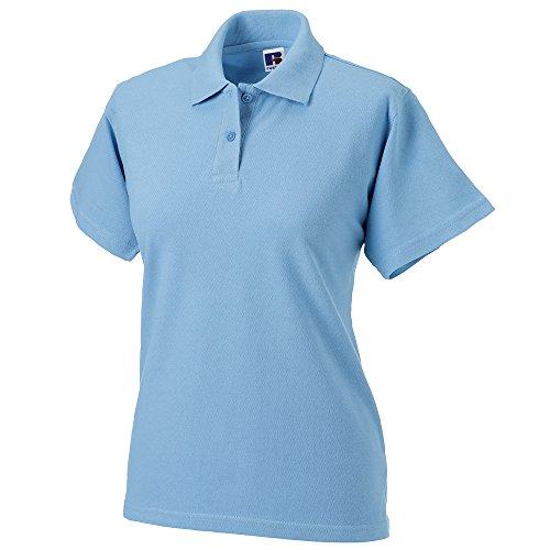 Russell Athletic - Polo - Femme Bleu - Bleu ciel