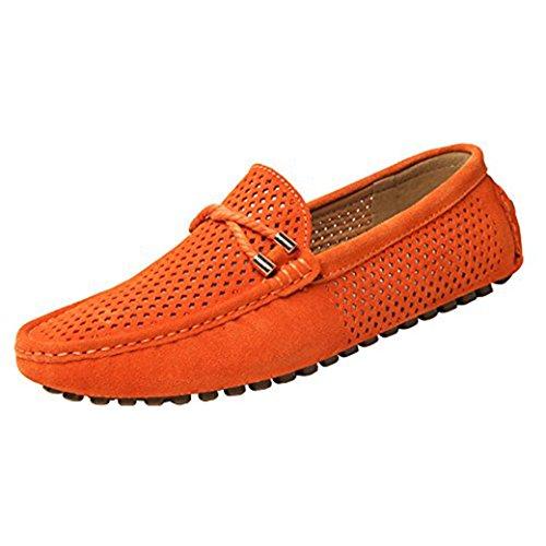 Da Camoscio In Yaer Slip Uomo Arancione Barca on Scarpe zqw0tnx0A1