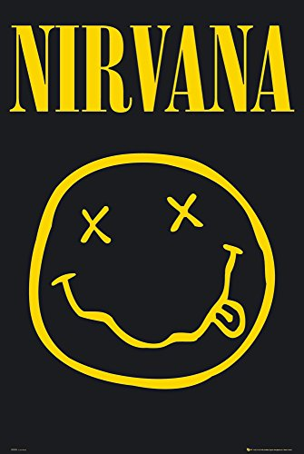 GB eye LTD, Nirvana, Smiley, Maxi Poster, 61 x 91,5 cm
