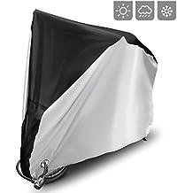 Cubierta para bicicleta cubierta de lluvia 190T Nylon UV protección para bicicleta de montaña bicicleta de