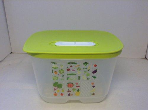 Grüne Sprossen Obst (Tupperware© KlimaOasen 1,8l Hoch Grün)