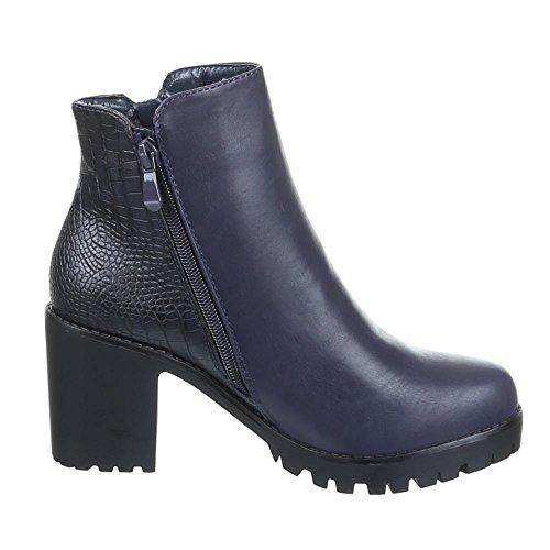 Chaussures, bottines h365 Bleu - Bleu