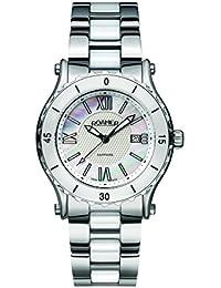 Roamer AEU980 4123 PE - Reloj de Cuarzo para Mujeres (con Esfera nácar y Correa de Acero Inoxidable), Bicolor