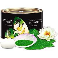 Shunga Sales de Baño Lotus Flower, Color Verde - 600 gr