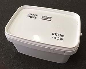 Sciure de hêtre pour fumage -Non traitée- Seau 5,6 litres.+de1,5 kilo