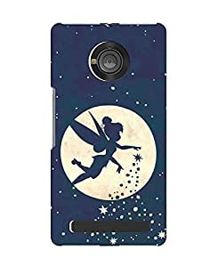 Pick Pattern Back Cover for Micromax YU Yuphoria (MATTE)