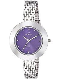 Maxima Analog Purple Dial Women's Watch - O-44902CMLI