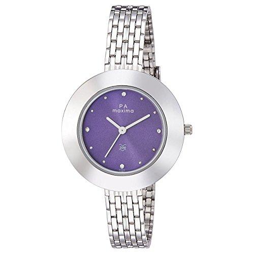 Maxima Analog Purple Dial Women's Watch-O-44902CMLI image
