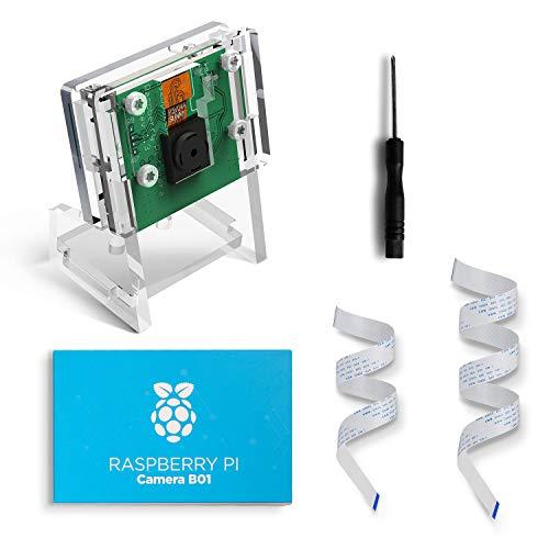 AZDelivery c/ámara con Cable de Cinta Flexible de 15cm para Raspberry Pi y Cable de Cinta Flexible de 30cm para Raspberry Pi Zero con eBook Gratis!