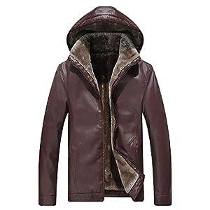 Amphia – Langer Mantel mit Kapuze aus BaumwolleHerren Herbst und Winter Mittellange Verdickung Warmer Baumwollmantel