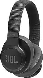 JBL Live 500BT kabellose Over-Ear Kopfhörer - Bluetooth Ohrhörer mit 30 Stunden Akkulaufzeit und Alexa-Integration - Musik hören, streamen und telefonieren unterwegs Schwarz