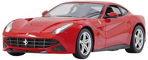 Jamara 403084 40 MHz 1 : 14 Echelle Rouge Ferrari F12 Berlinetta Voiture de