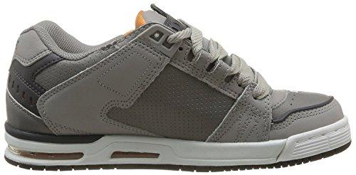 Globe Sabre Skater Schuhe Sneaker Grey Orange Grey Orange