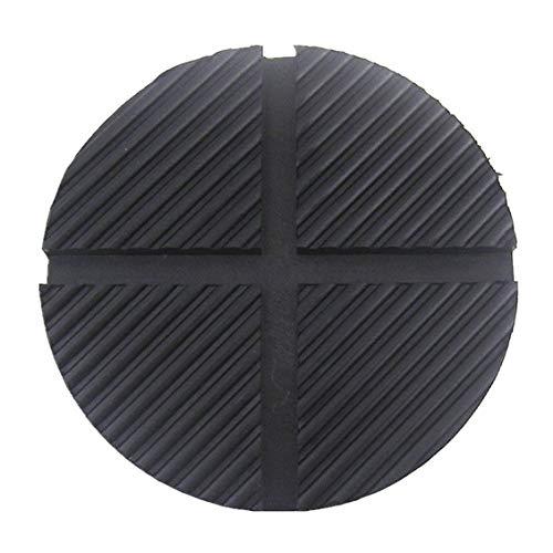 ForceSthrength Cuscinetto di Protezione per Cuscino Jack in Gomma su rotaia per Fuoristrada da 125 mm