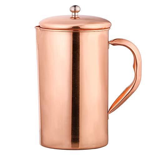 Amazon Brand - Solimo Copper Jug (Plain, 1750ml)