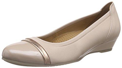 Gabor - Gabor Comfort, Ballerine Donna Beige (Beige (12 puder/rame))