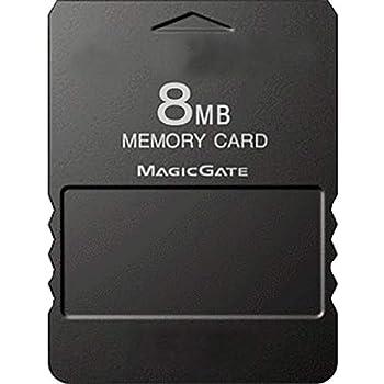 Tihebeyan Carte M/émoire pour PS2 Carte m/émoire Haute Vitesse 8M//64M//128M//256M pour Sony Playstation 2 Accessoires 32M