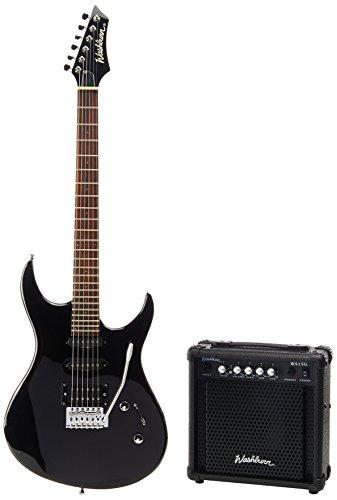 Washburn RX10B Rx10 b-Confezione chitarra elettrica