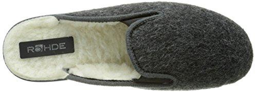 Uomo 82 Pantofole 2689 Calde Raddoppiato Grigio carbon Rohde wFxOzRqXR