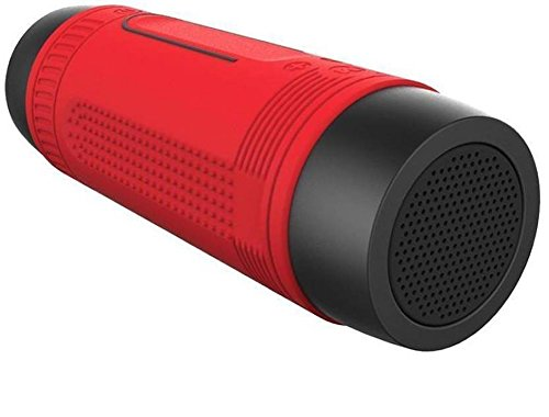 ZEALOT S1 Portable Multifunction Wireless Bluetooth Sport Music Speaker, Red (With Bicycle Mount)