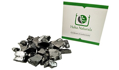 Elite Shungite 100gr Natural Stone Chakra Crystal Healing Energy Karelia Russia