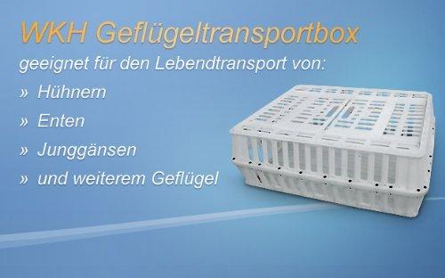 5 Tier-box Locker (Transportbox für Geflügel - Geflügeltransportkiste - Hänchenkiste)