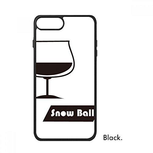 cold master DIY lab Snowball Cocktail mit Seiner Cup für iPhone 8/8Plus Fällen Phonecase Apple Schutzhülle Geschenk, iPhone 8 Case