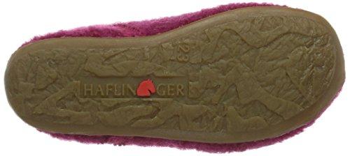 Haflinger Everest Karlo Mädchen Hohe Hausschuhe Pink (fuchsia / 34)