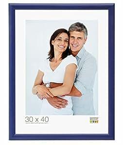 Deknudt Frames S40CL6 Cadre Photo Bois Bleu 18 x 24 cm
