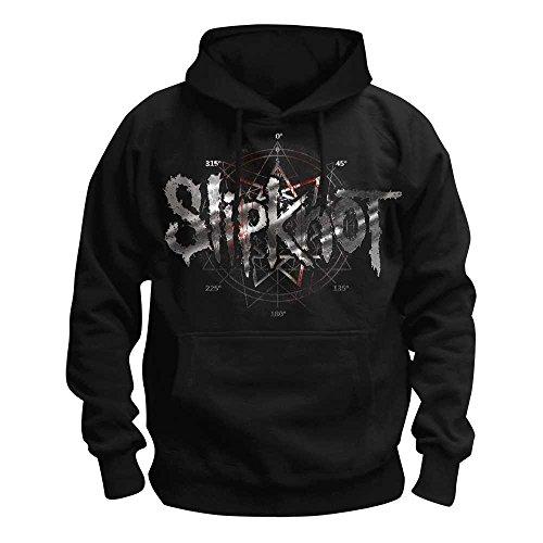 Slipknot - Des Moines Kapuzenpullover, schwarz, Grösse M