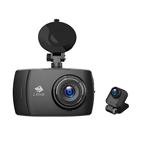 Autokamera Ultra HD 1440P mit Rückkamera Full HD 1080P, Touchscreen 4,0 Zoll, Loop-Aufnahme, WDR, G-Sensor, Bewegungserkennung, Parküberwachung, inkl. 32GB MicroSD Karte ()