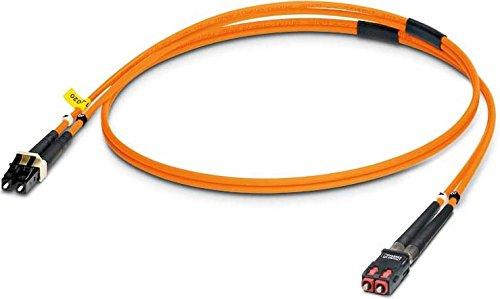PHOENIX 2901802 - CABLE FIBRA OPTICA/O FLUORESCENTE MM PATCH 1 LC-SCRJ