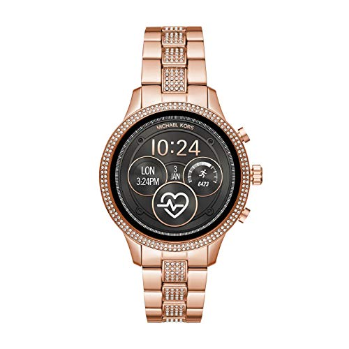 Michael Kors Womens Smartwatch with Stainless Steel Strap MKT5052