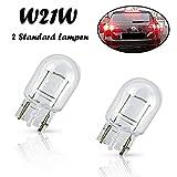 2x Jurmann W21W 12V W3x16d Standard Bremslicht Rückfahrlicht Blinker vorne und hinten Ersatz Halogen Auto Lampe E-geprüft